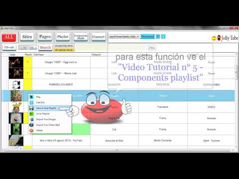 JollyTube - TUTORIAL n° 2 - ALL (Español) HD