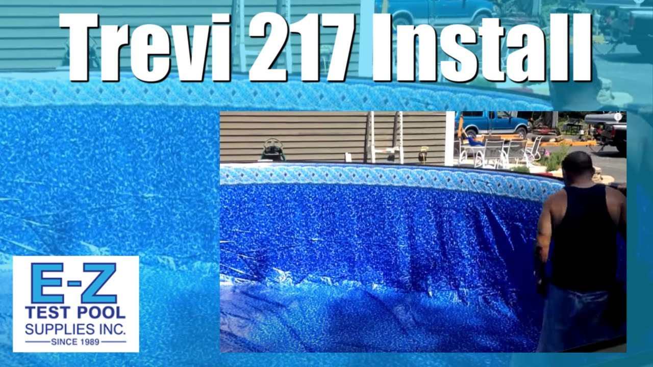 Trevi 217 pool job above ground pool construction youtube for Above ground pond construction