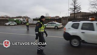 Kelių policija dirbo ir Vasario 16-ąją