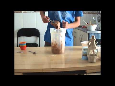 como hacer magdalenas de chocolate