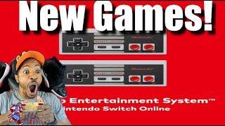NINTENDO SWITCH ONLINE UPDATED! NEW NES GAMES! NINJA GAIDEN! ADVENTURES OF LOLO! WARIO'S WOODS!