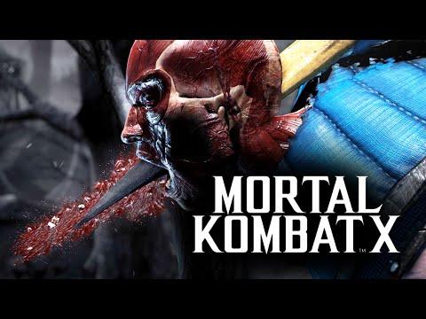 Mortal Kombat X -  Бой с Девушкой! Веселые Моды