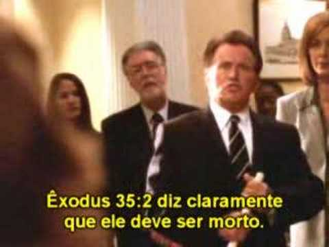 The West Wing Homossexualidade x Bíblia