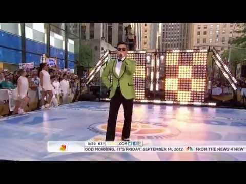 Psy performs on Today show in New York