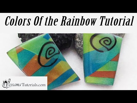 Colors of the Rainbow Pendant Tutorial