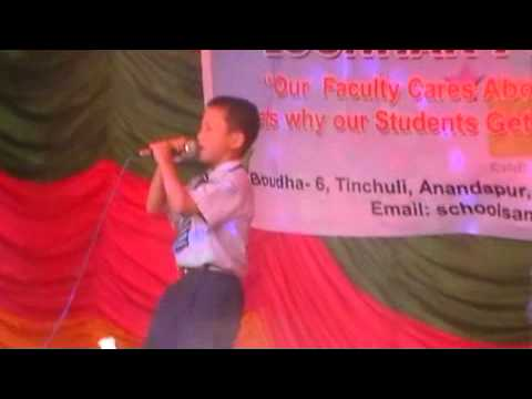 Nepali Kid Singing Baby (g.s.school Www.samlingschool.net) video