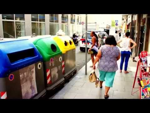 Automated Trash Management in Barcelona