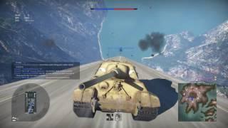 War Thunder PS4  breaking mach speed in tanks
