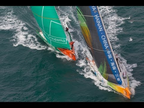 Volvo Ocean Race - Sanya Haitang Bay In-Port Race Full Live Replay 2011-12