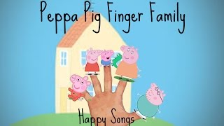 PEPPA PIG FINGER FAMILY COLLECTION NURSERY RHYME SONG DADDY PIG MUMMY PIG GEORGE PIG