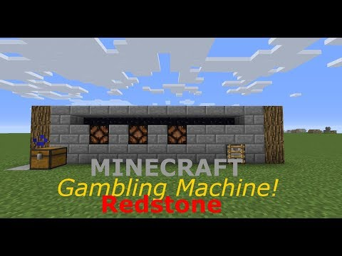 Gambling Machine! | Minecraft Redsotne Tutorial #5