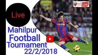 {Live} Mahilpur (Hoshiarpur) Football Tournament