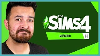 Reacting to The Sims 4 Moschino Stuff