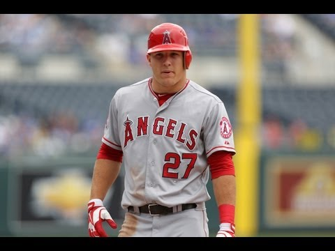 Mike Trout 2013 Highlights (Through All-Star Break)