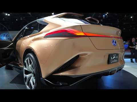 Прощай, скомканная бумажка – концепт Lexus LF-1 Limitless // Детройт 2018