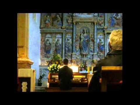 Sei gegr��et, Jesu g�tig, BWV 768, em Tent�gal