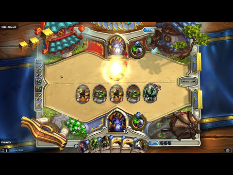 Hearthstone: Crendor vs Totalbiscuit -Legendary Deck Duel- Part 1