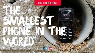 Unboxing the Smallest Phone in the World | ZANCO Tiny T1