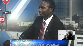 The Avenue-Evance Kisanko (Rais wa Wanafunzi chuo kikuu-UDSM)