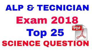 Top 25 science question for Alp & Technician