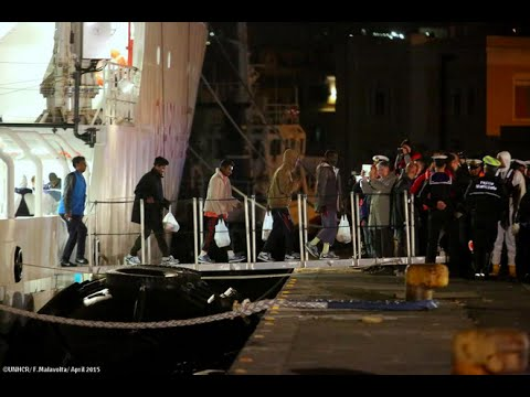 Italy: Survivors of the Sea Tragedy