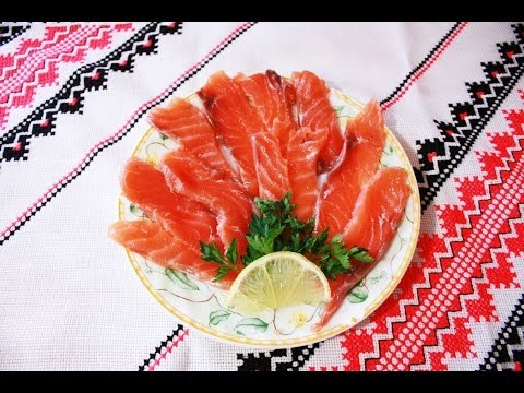 Красная рыба,семга,лосось рецепт малосольной рыбы Как засолить красную рыбу в домашних условиях