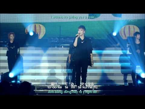 Stand By Me (japanese Version) [engsub + Vietsub] - Shinee The 1st Concert - Shinee World video