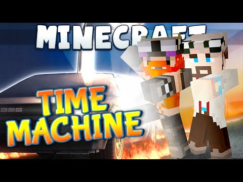 Minecraft - Back To The Future #2 - Time Machine video