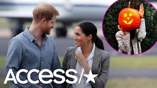 Did Prince Harry Take This Halloween Photo Of Meghan Markle In 2016? | Access