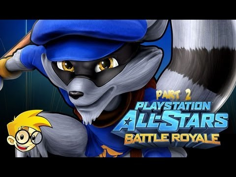 Playstation All-Stars Battle Royale - Sly Part 2 - Nerds Primatas