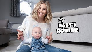 Daily Baby Routine! | 5 Month Old