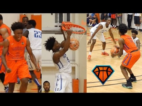 Collin Sexton Scores 44 & The Game-Winning Jumper In A Battle With Davion Mitchell At EYBL Atlanta!!