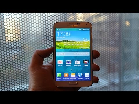 Samsung Galaxy S5 Hands On & First Look - MWC 2014