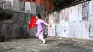 Wudang Kung Fu Fan by Shifu Pan Kedi 武當逍遙扇 潘科迪