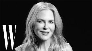 Nicole Kidman on Big Little Lies, Moulin Rouge, and Oscars Mini-Dress | Screen Tests | W Magazine