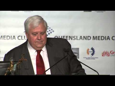 Clive Palmer - QLD Media Club Speech, Post 2014 Budget - 19th May 2014