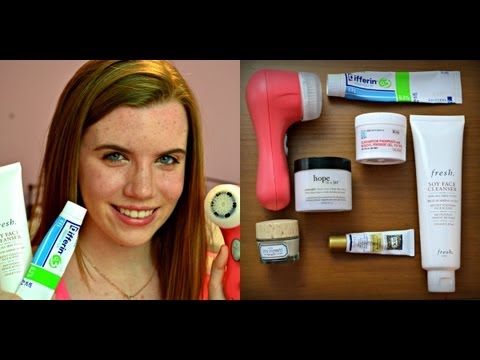 My Skincare Routine for Combination Acne Prone Skin!
