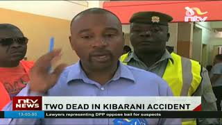 Two people die in Kibarani after an accident between a trailer and a matatu