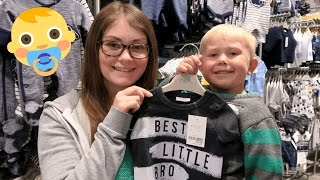 👶 BABY CLOTHES SHOPPING
