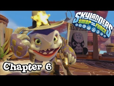 Let's Play Skylanders SWAP FORCE - Chapter 6 IRON JAW GULCH (Hard Mode)