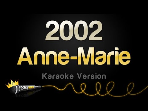 Download Lagu  Anne Marie - 2002 Karaoke Version Mp3 Free