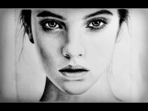 Pretty Face Drawing Drawing a Realistic Female