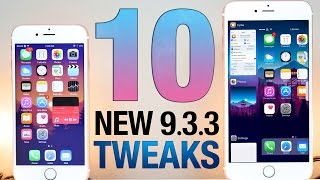 10 NEW iOS 9.3.3 Jailbreak Tweaks!
