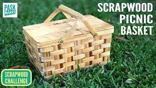 Homemade Picnic Basket - Scrapwood Challenge ep24