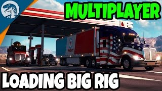MASSIVE TRUCK CONVOY ROLLS OUT | American Truck Simulator Multiplayer Gameplay