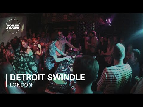 Detroit Swindle Boiler Room DJ Set