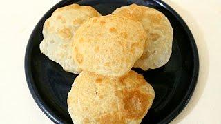 Bhatura Poori Recipe in Tamil