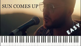 Rudimental ft. James Arthur - Sun Comes Up (Piano Tutorial & Sheets) (EASY)