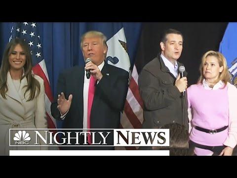 "Cruz Calls Trump A ""Sniveling Coward"" As Feud Over Wives Escalates | NBC Nightly News"