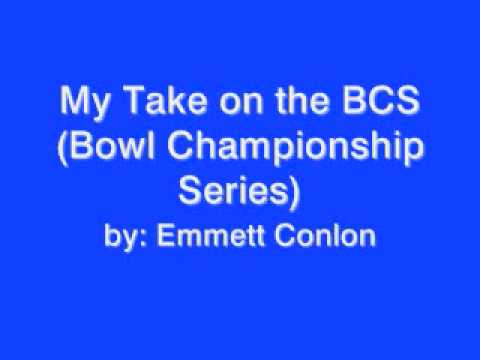 an introduction to bowl championship series Should college football replace the bowl championship series (bcs) with a playoff system read pros, cons, and expert responses in the debate.